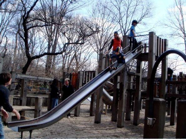 Central Park slide